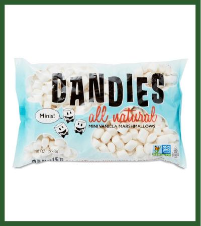 Mini Vegan Marshmallows (Thrive Market) - Vegan Christmas Stocking Stuffer Ideas