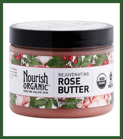 Rejuvenating Rose Body Butter (Thrive Market) - Vegan Christmas Stocking Stuffer Ideas