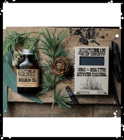 Cedar & Eucalyptus Beard Care Kit
