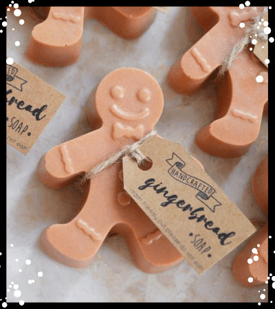 Gingerbread Man Soap