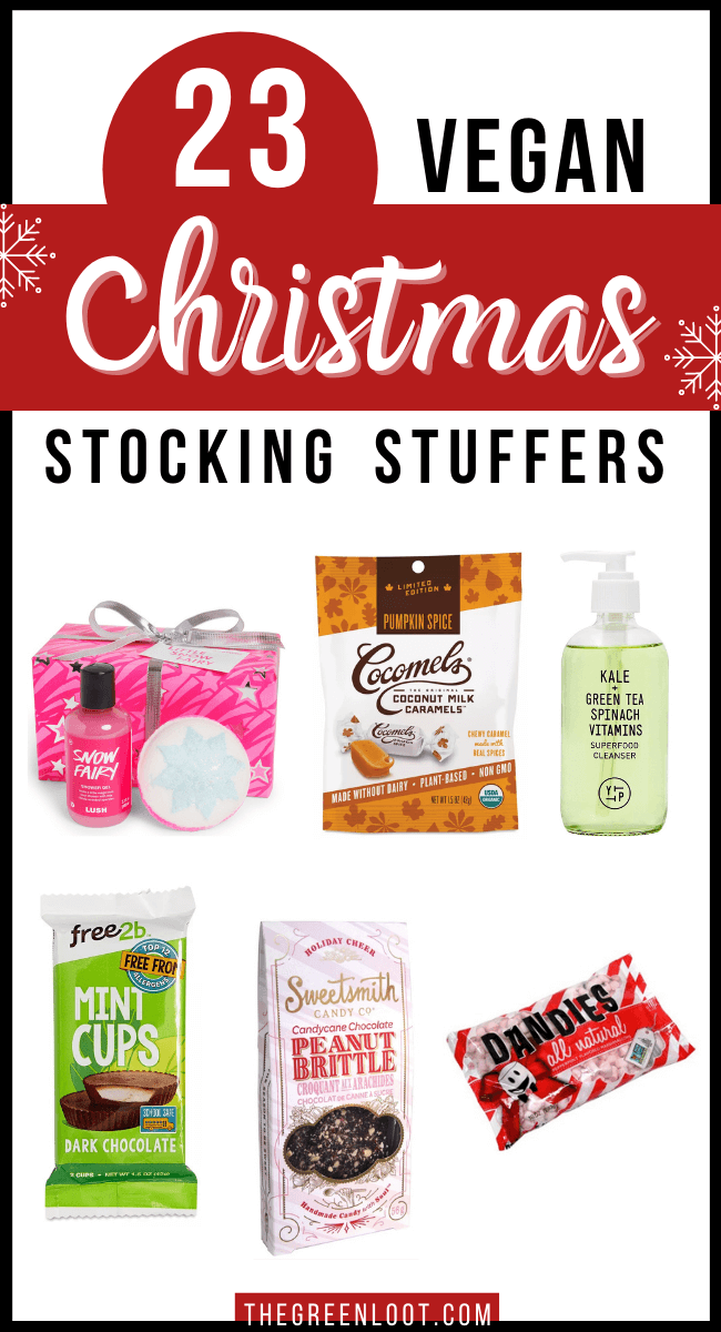 vegan Christmas stocking stuffers and gift ideas