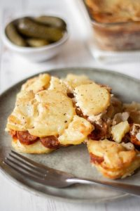The Perfect Vegan Scalloped Potatoes