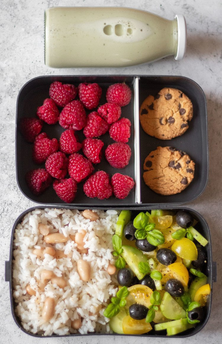5 Easy Vegan Lunch Box Ideas for Work