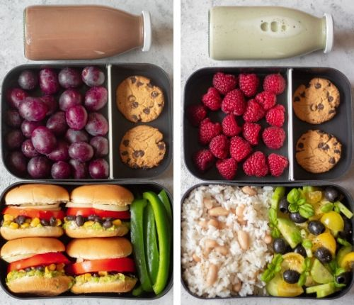 vegan lunch box ideas for work meal prep