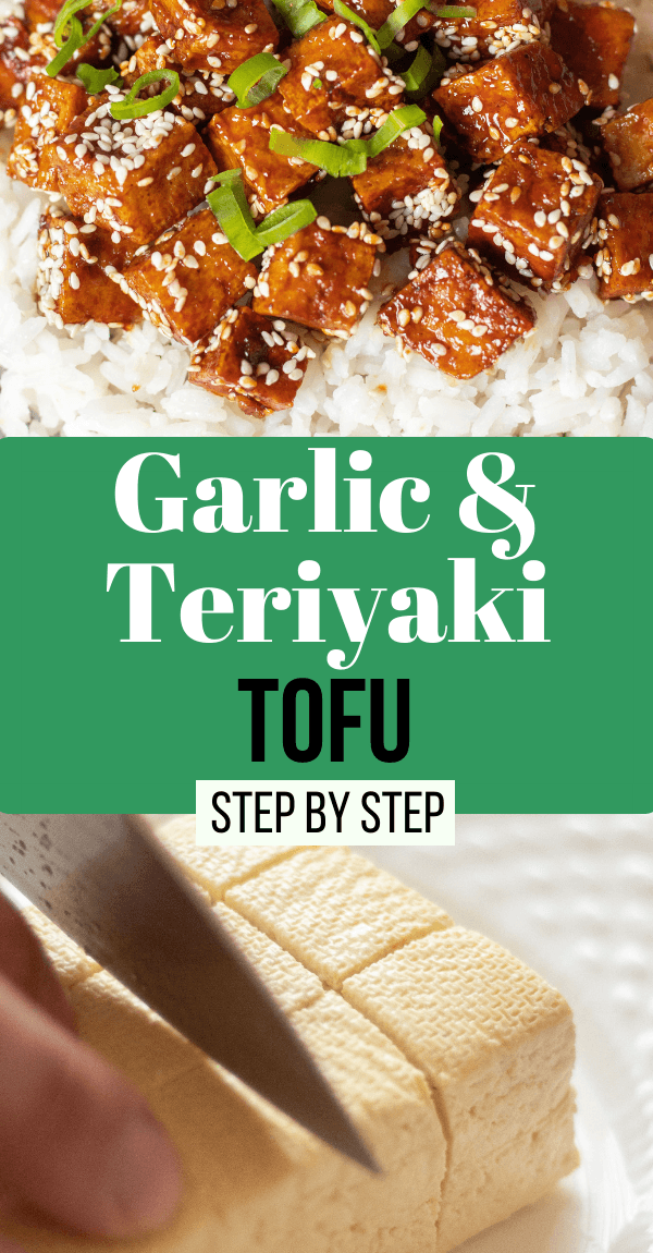 Vegan Garlic Teriyaki Tofu for Beginners (Step by Step)