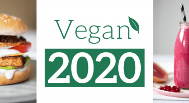 going vegan in 2020 text