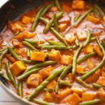 vegan green bean curry