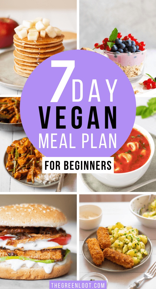 Easy 7-day Vegan Meal Plan for Beginners
