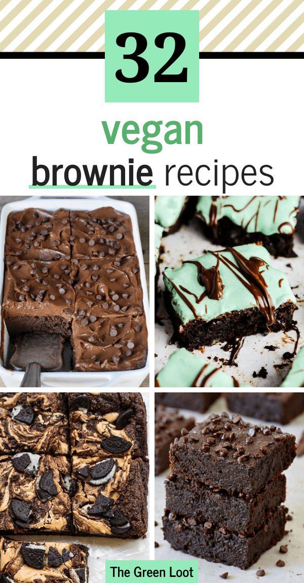 The Best 32 Vegan Brownie Recipes You Need In your Life