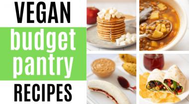 vegan budget pantry recipes