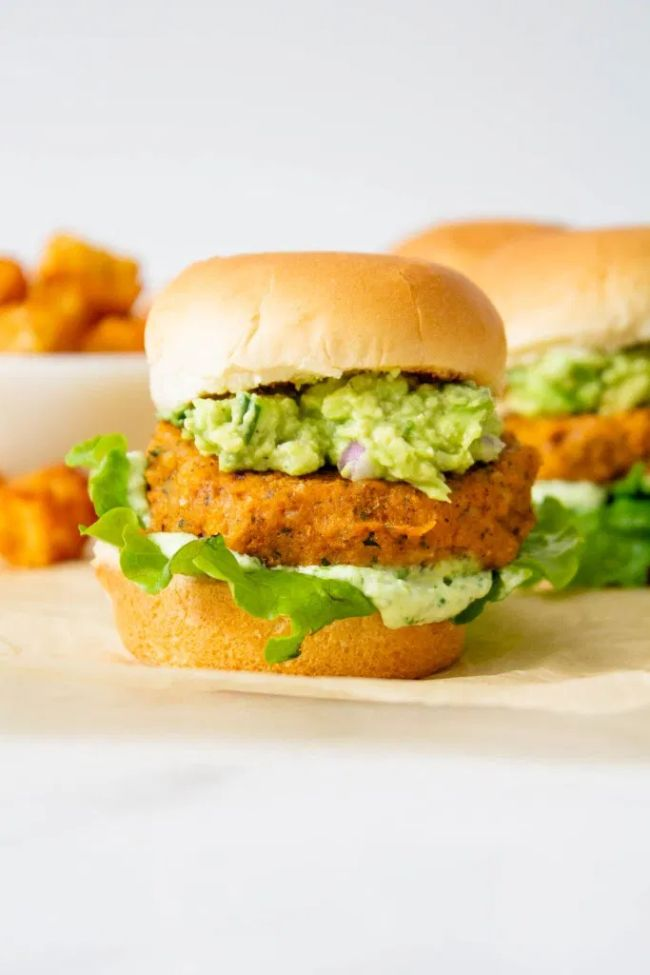 Buffalo Chickpea Sliders