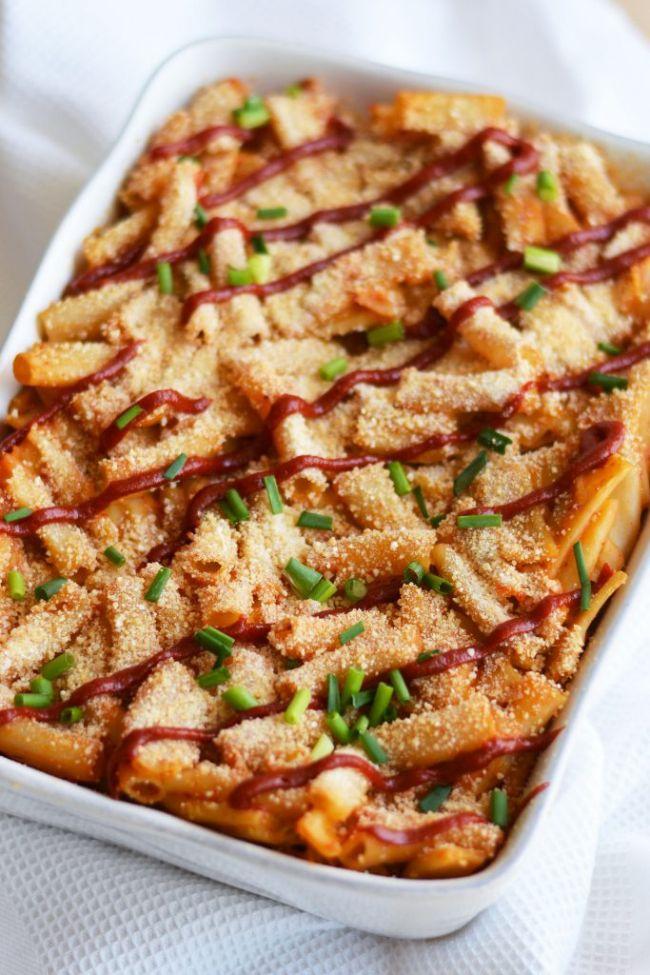 Cauliflower Kimchi Mac 'n' Cheese