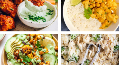 vegan cauliflower recipes