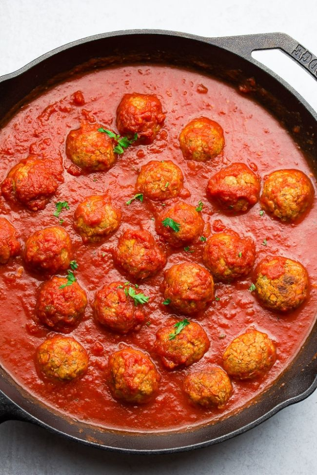 Chickpea Meatballs