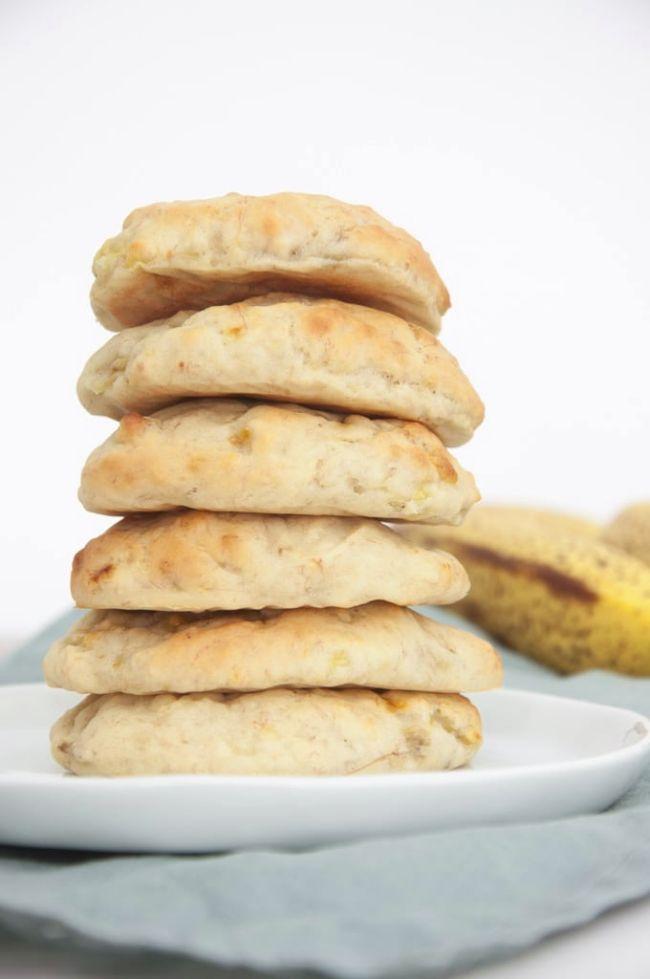 Sugar-free Banana Cookies
