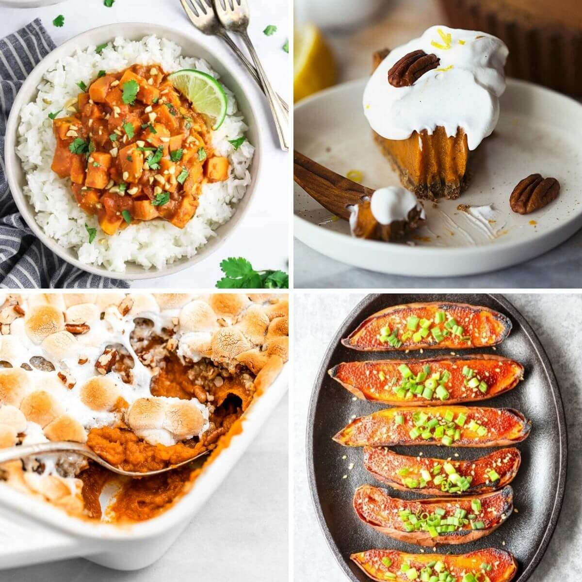 vegan sweet potato recipes