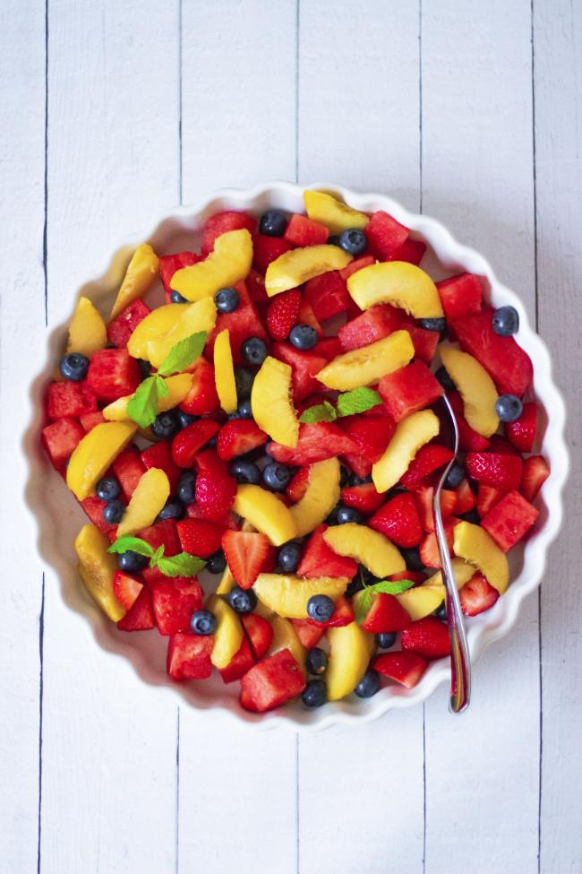 Summer fruit salad