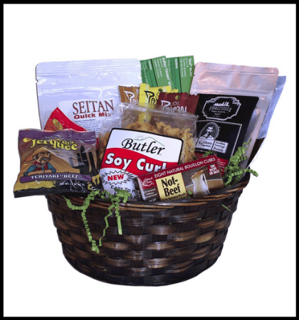 Meat Subtitutes Gift Basket