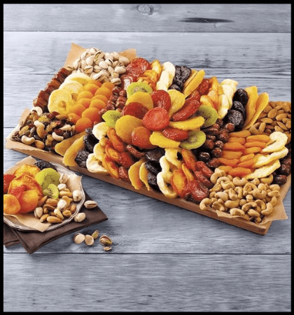 Dried Fruits and Nuts Gift Basket