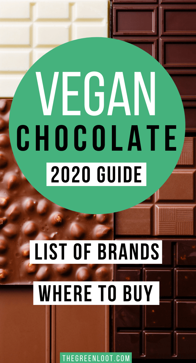 vegan chocolate - list of brands