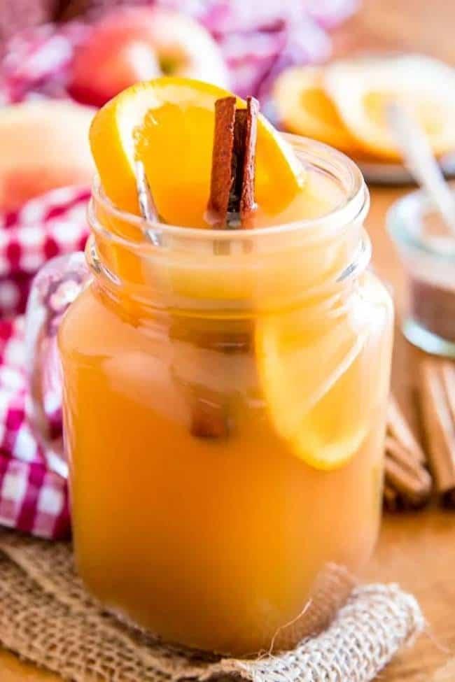 Apple Cider Rum Punch