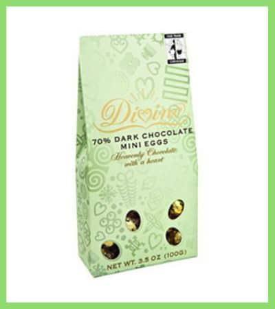 Divine Mini Dark Chocolate Eggs