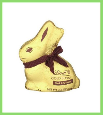 Lindt Dark Chocolate Bunny