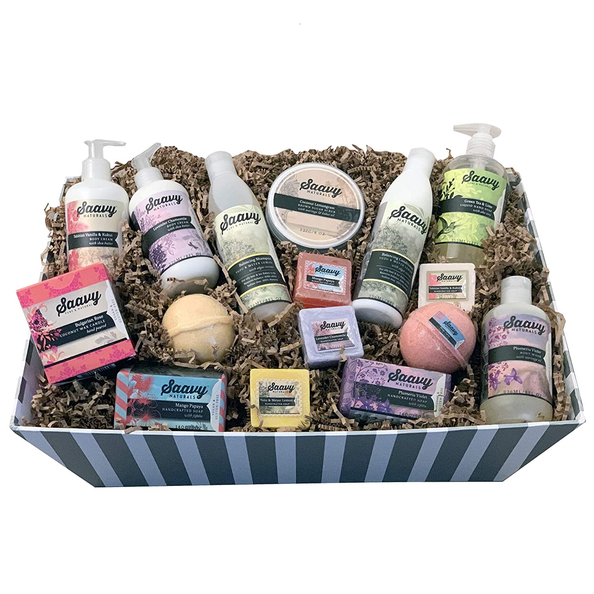 Savvy Naturals Ultimate Spa Gift Basket