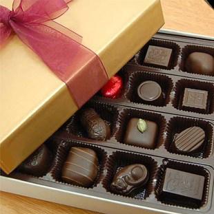 16 Piece Chocolate Assortment by Rose City Chocolatier